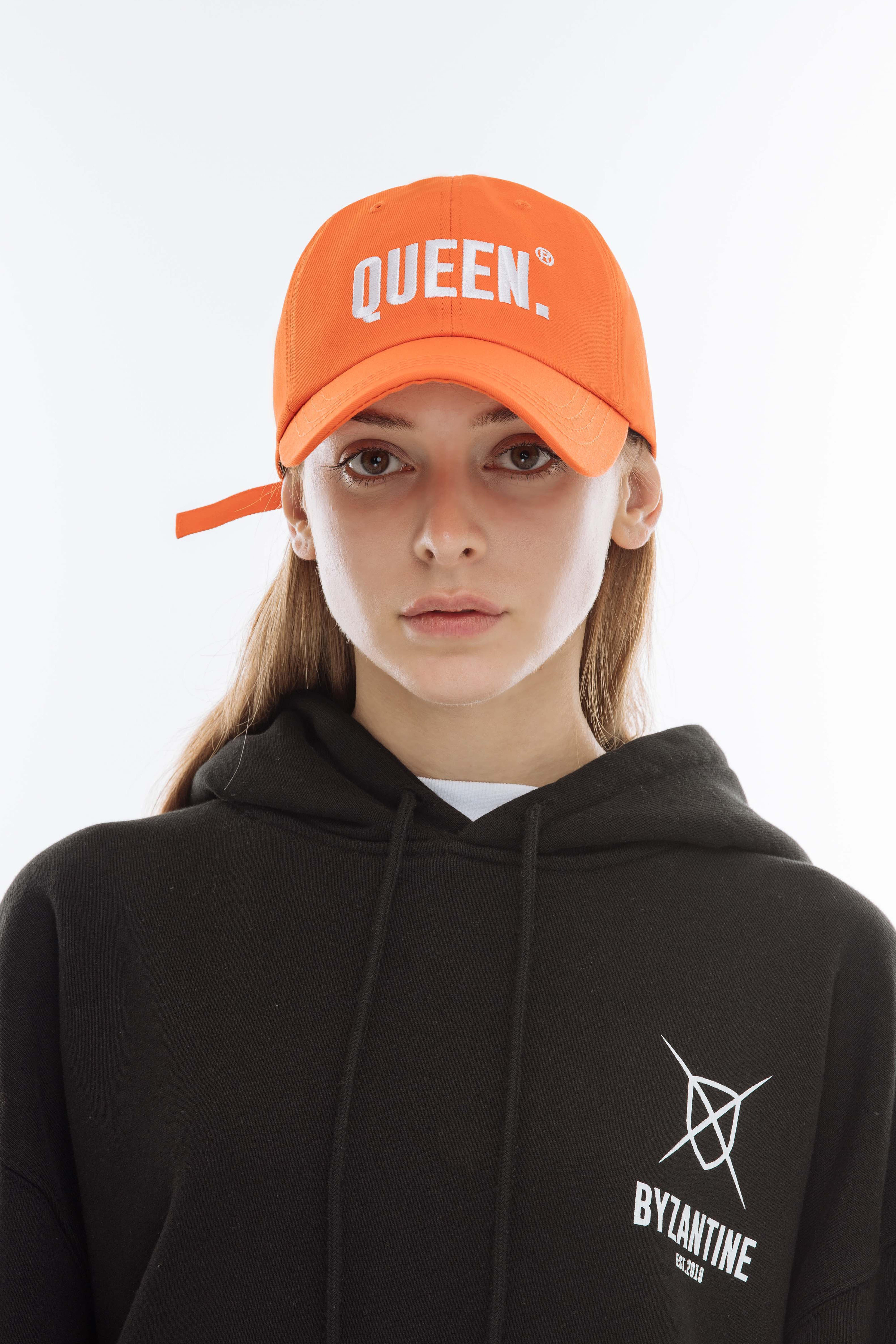 """QUEEN."" CAP (ORANGE)"