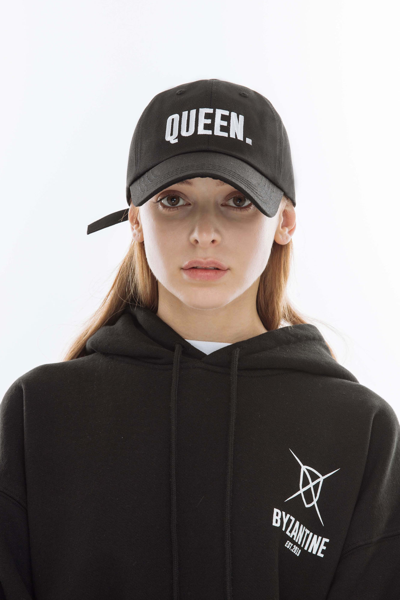 """QUEEN."" CAP (BLACK)"