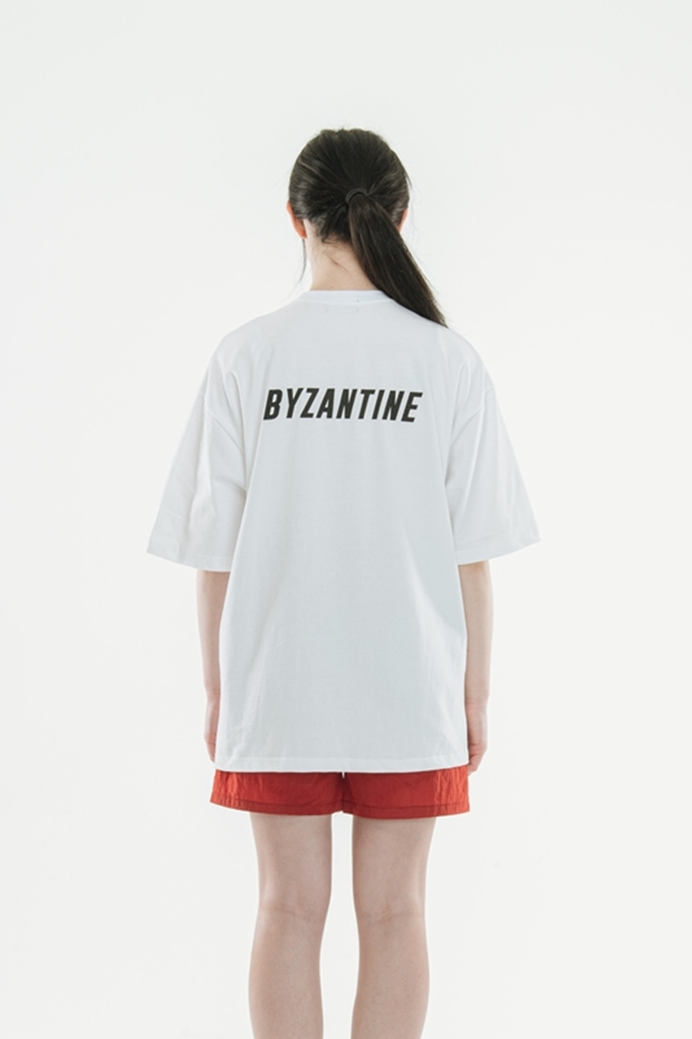 """Back Logo"" T-Shirts(White)"