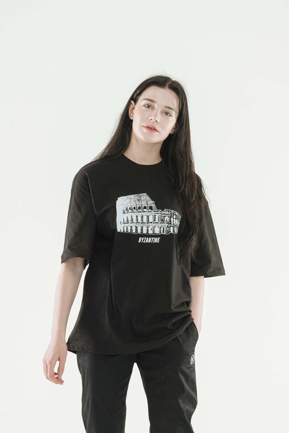Colosseum T-Shirts(Black)