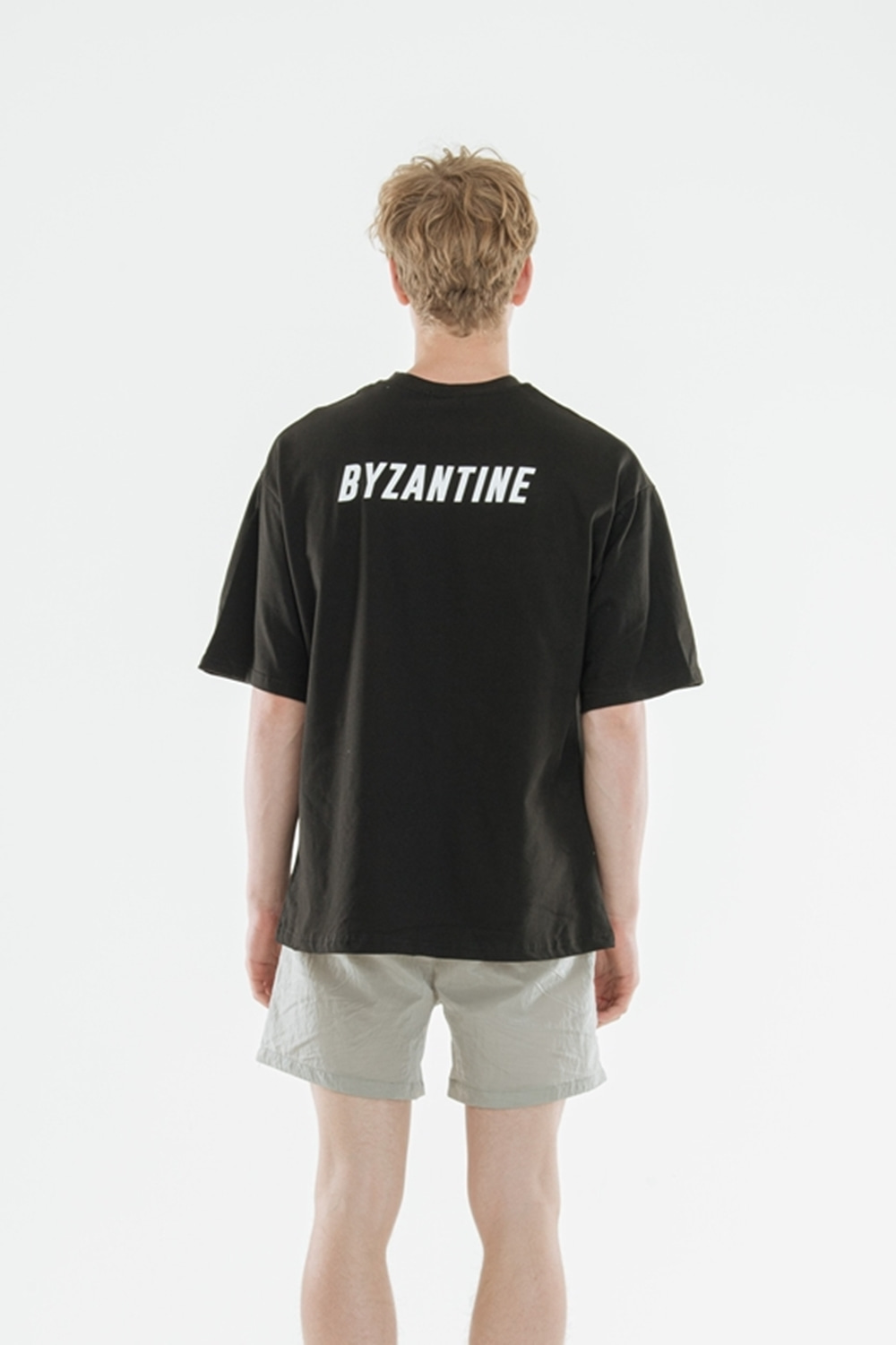 """Back Logo"" T-Shirts(Black)"