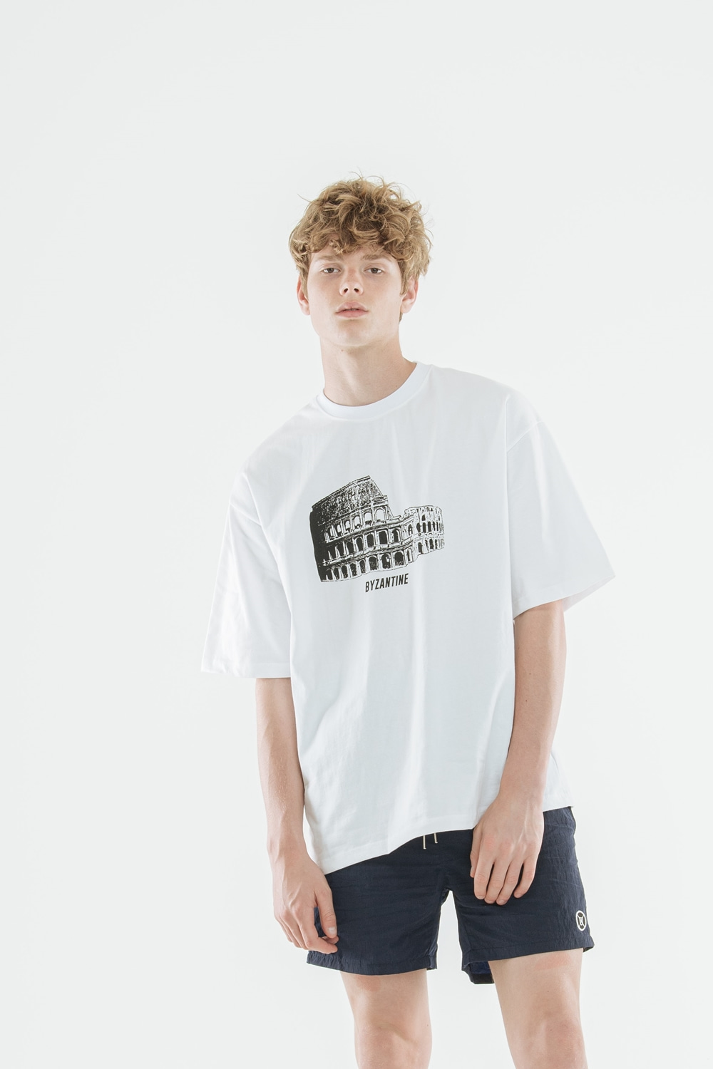 """Colosseum"" T-Shirts(White)"
